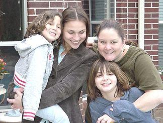 Suzannah, Nicole, Chandra and Gabby