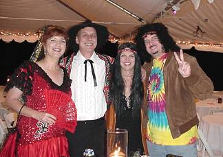 Theresa, Rob, Joanie and Roger