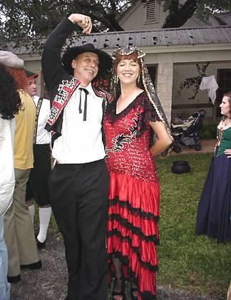 Rob and Theresa - The Matador and his Senorita