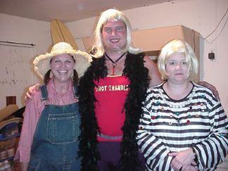 Joanie and Roger with Martha Stewart (Chandra)
