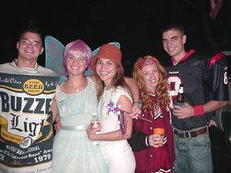 Patrick, Natalie, Nicole, Kelly and Shaun