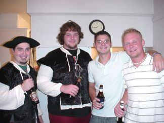 Payton, Cody, Patrick and Chase