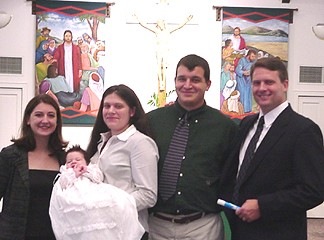 Amy, Amy, Hannah, Johnathan and Roger