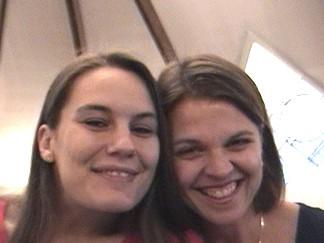 Heidi and Joanie