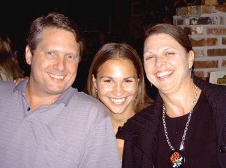 Roger, Nicole and Joanie