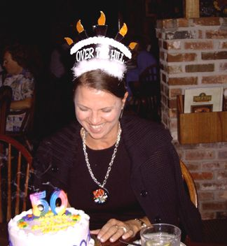 Joanie - the birthday girl