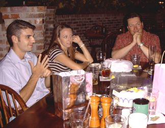 Shaun, Kelly and Joe Heisler