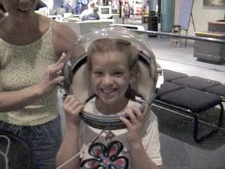 Megan - Ready for liftoff!