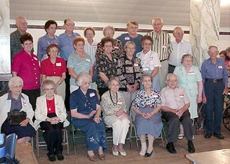 Grandchildren of Theresa and Joseph (the Stryks who migrated to US) at the Stryk Reunion.