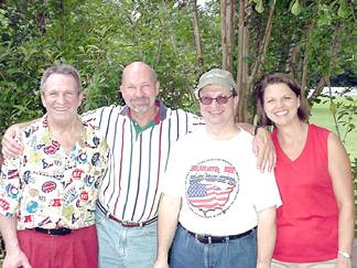 Mike, Pat, Mark and Joanie