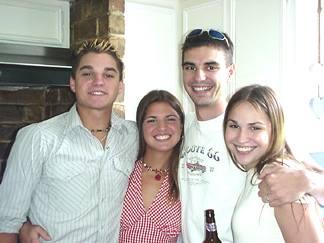 Patrick, Natalie, Shaun and Nicole
