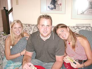 Susannah, Joseph and Natalie