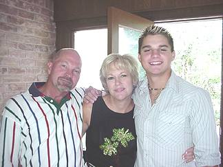 Pat and Eve with Patrick