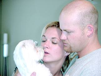 Kevin, Leah and Bogie