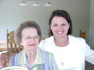 Joanie and Mom