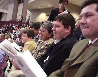 Kelly's family - Joe Heisler, Mark Heisler, Debbie Mattingly, Ryan Heisler and Greg Mattingly