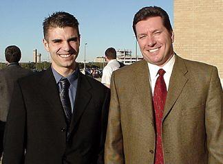 Shaun with Joe Heisler
