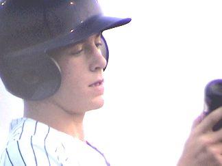 Ricky Watkins at bat