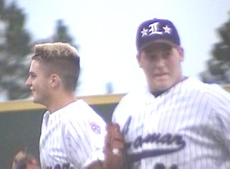 Patrick Griffin and Kyle Gibbs between Innings