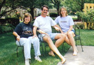 Alice Hank and Sara in Cincinnati