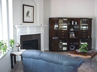 Oct 4th 2003: Standing in the Breakfast Room looking to the Family Room
