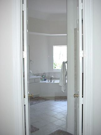 Oct 4th 2003: Looking from the Master Bedroom into the Bath