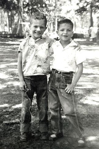 1957 - Donny Matocha and Mark Stryk... (Nice Shoes Mark!!! :-)