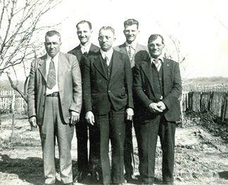 Joe Matocha and his brothers