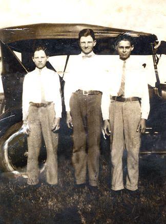Raymond Matocha, Edward Matocha (Mom's uncles) and Adolph Stalinsky
