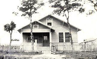 This is Joe Matocha's house in Cistern Texas where Mom grew up.