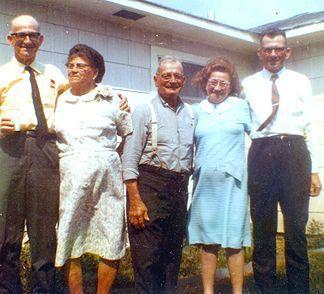 The Matocha kids (Mom's dad, aunts and uncles) .... Ray, Albina, Joe, Josie and Edward.