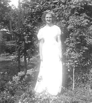Joanie's mom - high school graduation