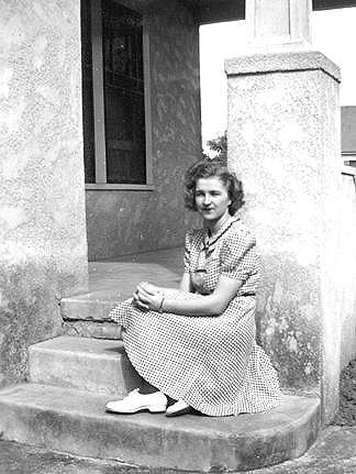 Joanie's Mom - this was taken sometime before she got married.