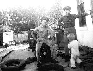 1948 - Joe Stryk, Michael Stryk and Rudy Dluhy