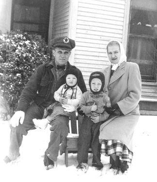 Joe, Patrick, Michael, and Wilma