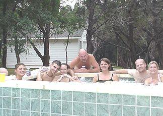Wade, Natalie, Shaun, Kelly, Pat, Joanie, Kevin and Leah