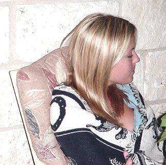 Kayli listening to David