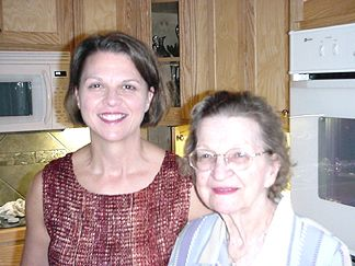 Joanie and Mom on Mothers day