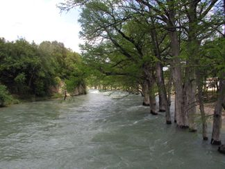 The flooding River