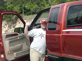 Cody and his truck