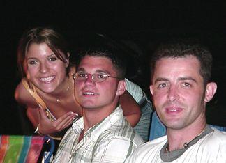 Kayli, Patrick and 'Cool Head Justin'