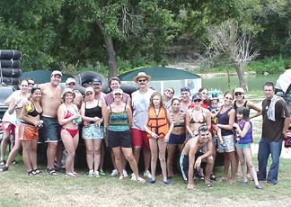 This is the Group Shot from Saturday's Toobing Trip