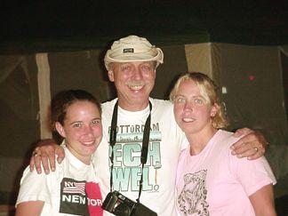 Rob with Trisha and Robin