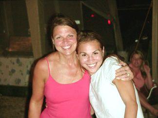 Joanie and Nicole