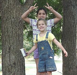 Sarah and Madison