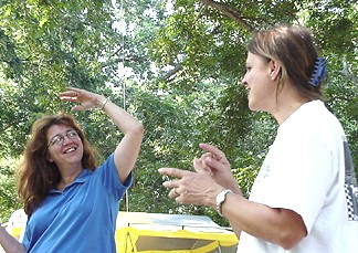 Joanie and Theresa
