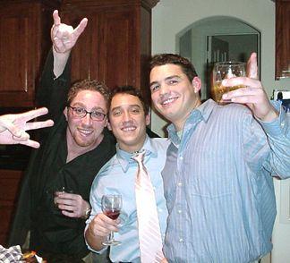 Matt, Peter and Jacob