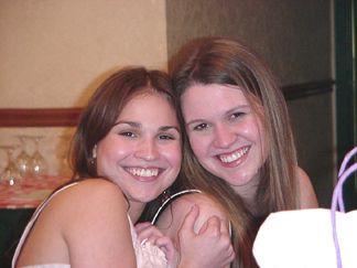Nicole and Lindsay
