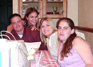 David, Nicole, Allison and Emile