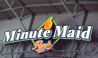 Nicole's graduation from UH was at Minute Maid Park